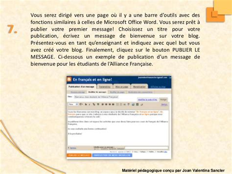 blogger comment tutorial comment cr 233 er un blog avec blogger pour vos cours fle
