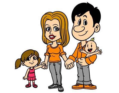 imagenes en movimiento de una familia bonitas imagenes de una familia en caricatura a colores