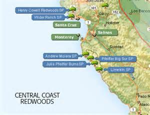 california coastal redwood parks