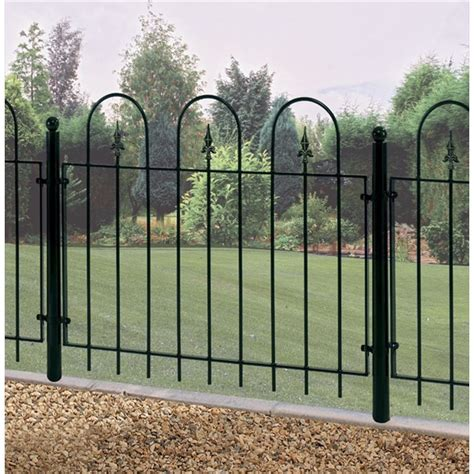 Metal Garden Fencing by Metal Garden Fence Panel The Garden Factory