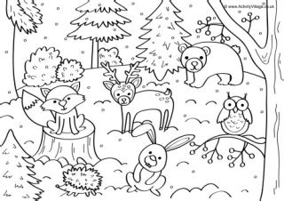 coloring pages of winter and hope noah s ark animals colouring page