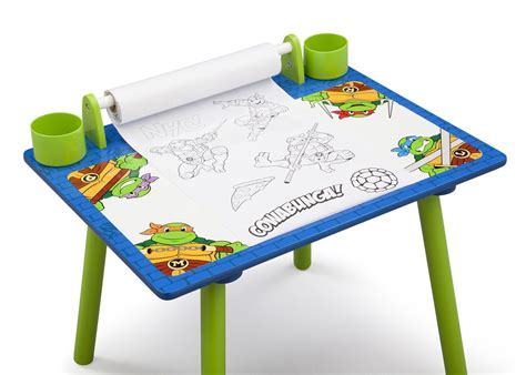 Mutant Turtles Desk by Mutant Turtles Desk With Paper Poll Delta Children S Products