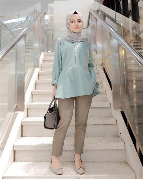 Baju Warna Merah Cocok Jilbab Warna Apa 10 contoh perpaduan warna baju hijau tosca dengan jilbab paling modis