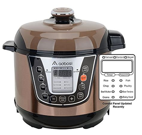 the aobosi multi functional electric pressure cooker the best watering and easy recipes books aaobosi aobosi electric pressure cooker 3qt 800w non stick