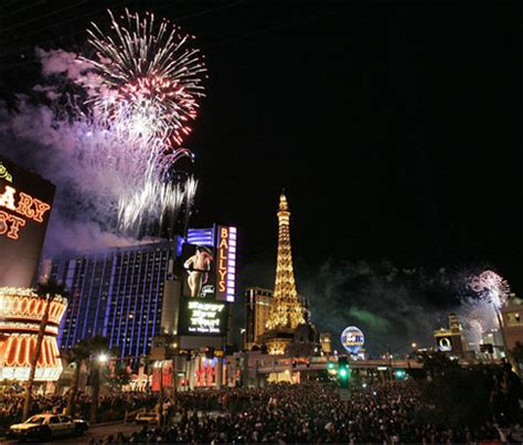celebrate new years in las vegas