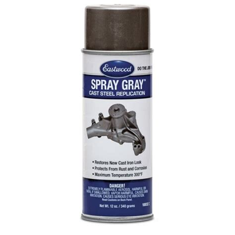 eastwood spray grey paint 340g aerosol restoration