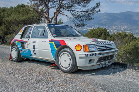 peugeot 205 group b 1984 1986 peugeot 205 t16 group b images