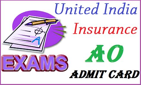 united india insurance uiic starts uiic ao admit card 2015 ticket call letter