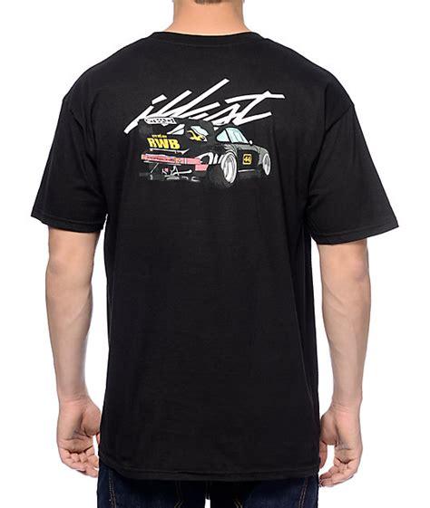 Illest Shirt illest whip rauh welt black t shirt zumiez