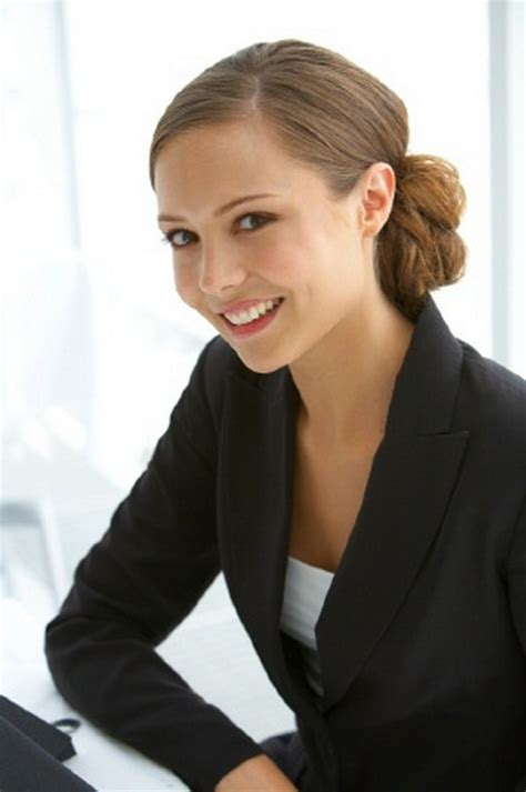 hairstyles appropriate for an interview office hairstyles for long hair