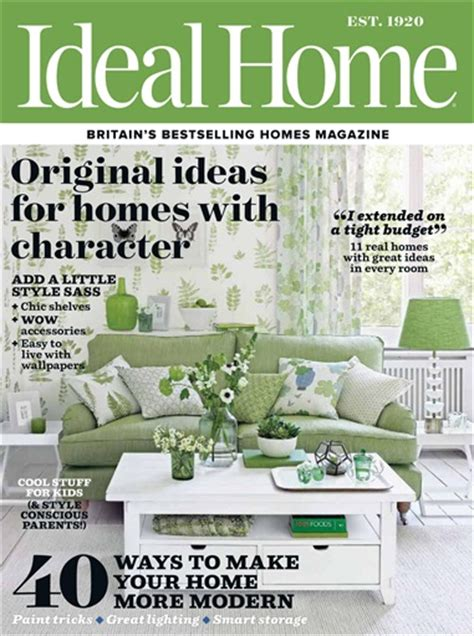 ideal home magazine dreamwall wallcoverings with a ideal home magazine may 2017 subscriptions pocketmags