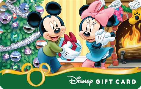 Disney Resort Gift Cards - smart phones add some magic to new holiday themed disney gift card designs