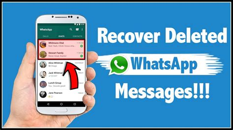 how to see deleted messages on android how to recover deleted whatsapp messages in android phone