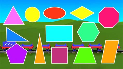 8 Shapes I by Shapes For Kindergarten Children Grade 1 Learn About