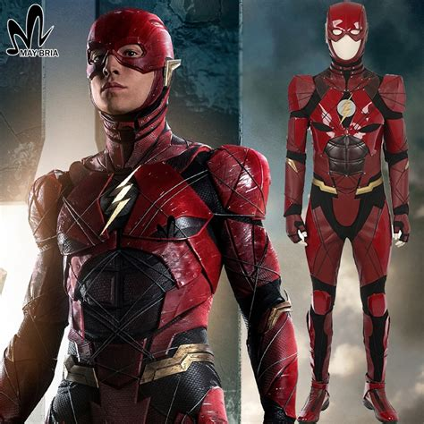 Hexagon Flash Justice League Xxi justice league flash costume leather suit