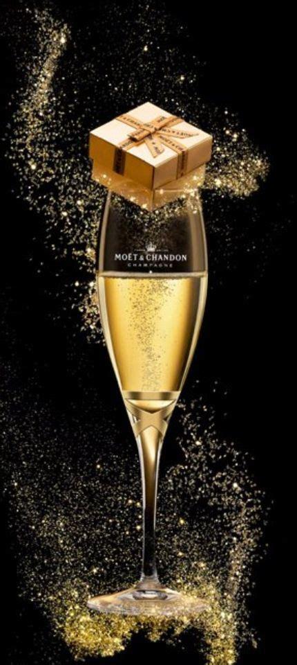 merry christmas darling sparkling moet champagne   sparkling gift shazb