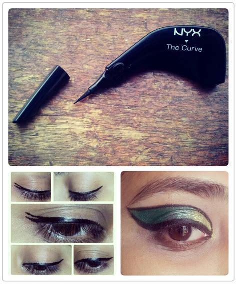 Eyeliner The Curve Nyx spotlight on nyx cosmetics eyespybeauty
