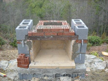 Foundation For Outdoor Fireplace by How To Build Outdoor Fireplace Building An Outdoor Fireplace Part 2 Posted By Laurel On
