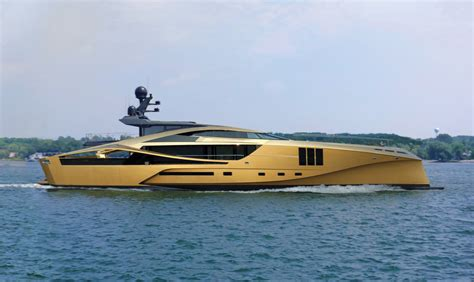boat store gold coast this golden yacht is the most beautiful boat you ll ever