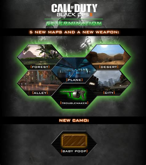 black ops map packs black ops 2 map pack 2 extermination by 931105j on