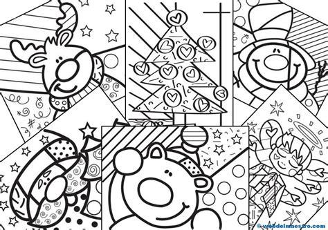dibujos navideños para pintar gratis dibujos de navidad iii web del maestro