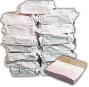Silver Bar Cart Freeze Dried Neapolitan Ice Cream Slices 16 Slices