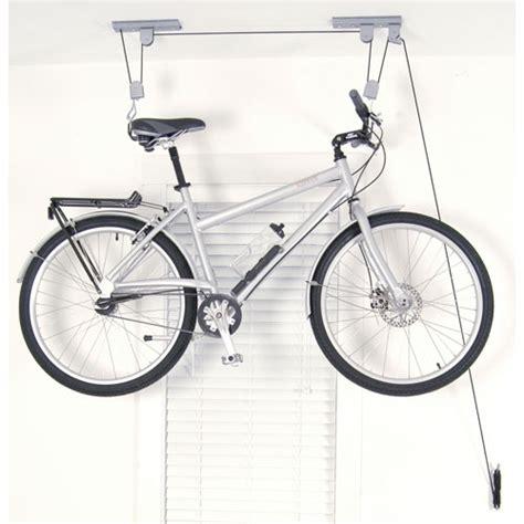 Bike Rack Pulley System by Ceiling Bike Hoist In Ceiling Bike Storage