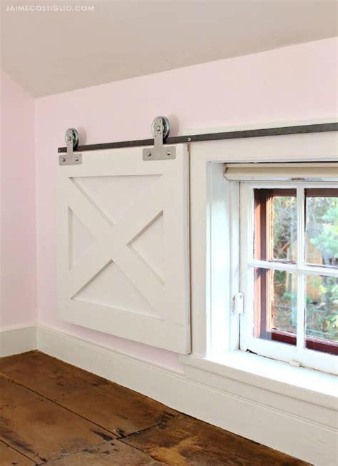 barn door window coverings  simpson strong tie