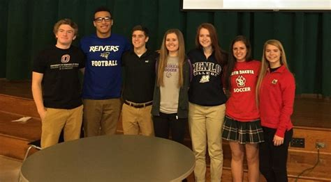the signees from lincoln southwest left were vanessa kavan list nebraska high school recruits sign with college