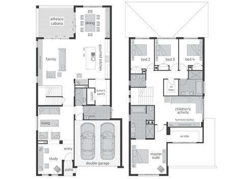 floor plans brisbane 17 best ideas about double storey house plans on pinterest