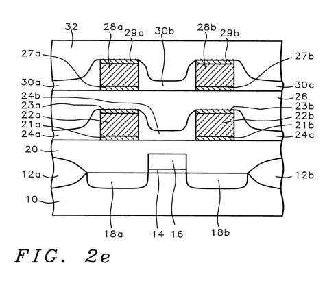 integrated circuits zinc oxide patent us6329717 integrated circuit selectivity deposited silicon oxide spacer layer
