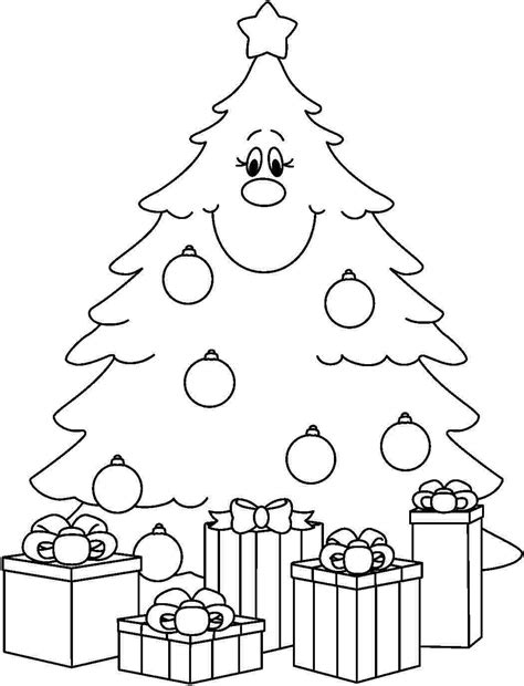 free printable coloring pages of christmas trees christmas tree coloring page print