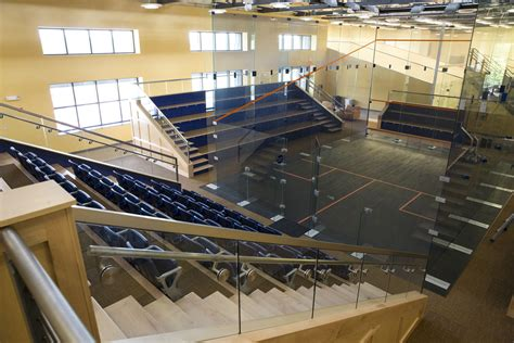 Court Section by Of Virginia S Mcarthur Squash Center To
