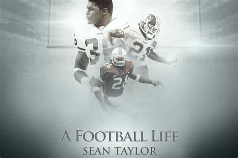 a life in football football sean taylor quotes quotesgram