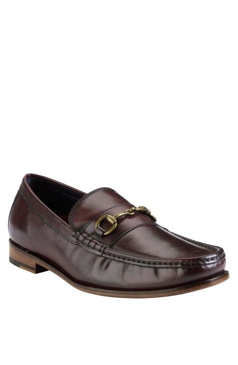 cole haan loafer cole haan hudson square bit loafer in brown for