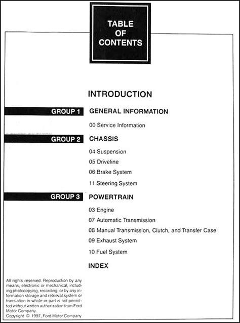 service manual pdf 1998 ford expedition repair manual 1998 ford expedition and lincoln navigator repair shop manual set original