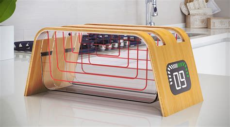 Toaster Mit Glasscheibe by The Bamboo Glass Toaster By Stumpf Hiconsumption