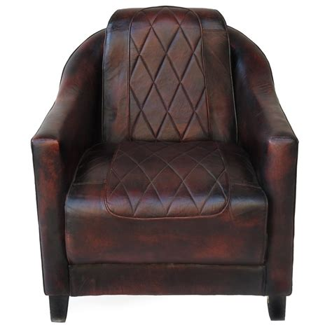 Union Jack Armchair Leather Armchairs Worn Leather Couch Distressed Vintage