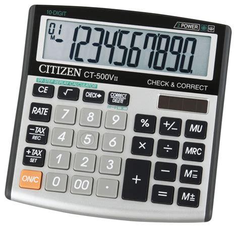calculator citizen ct 500vii citizen calculator