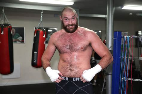 Tyson Fury Recent Pictures