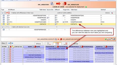 sql server compare tables compare and synchronize oracle table data data compare