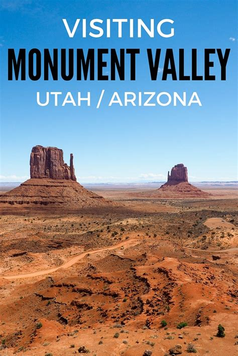 visiting monument valley in the american southwest
