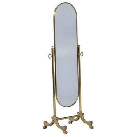french oval cheval mirror with brass stand cheval mirror floor mirror and mirror floor