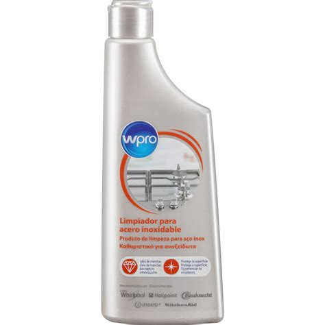 encimera inox limpiador de encimera de inox en crema whirlpool es
