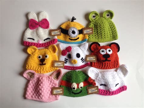 gorros tejidos en crochet para bebes de animalitos 2016 gorros tejidos a gancho para bebe de animalitos
