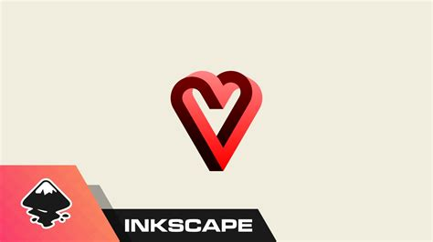 inkscape tutorial on youtube inkscape tutorial impossible heart graphic youtube