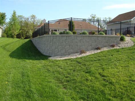 Retaining Wall To Level Backyard Retaining Walls