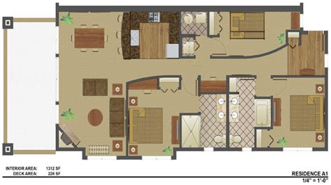 1300 square house plans 1300 square foot duplex