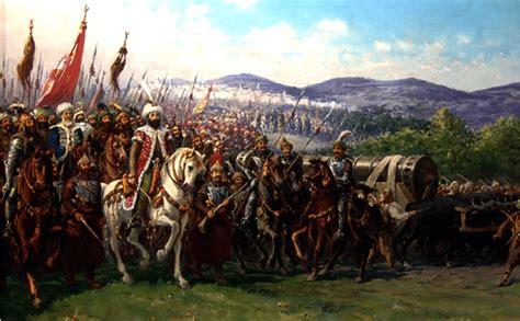 ejercito otomano mehmed ii y el ejercito otomano llegando a constantinopla