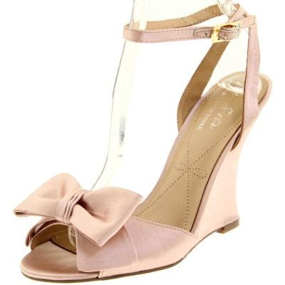 Blush Wedges Wedding by 25 Best Ideas About Pink Wedding Shoes On